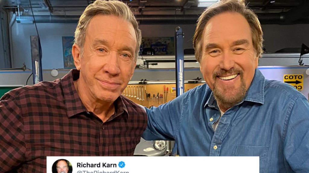 Tim Allen reunites with Richard Kern at the Film New History Show
