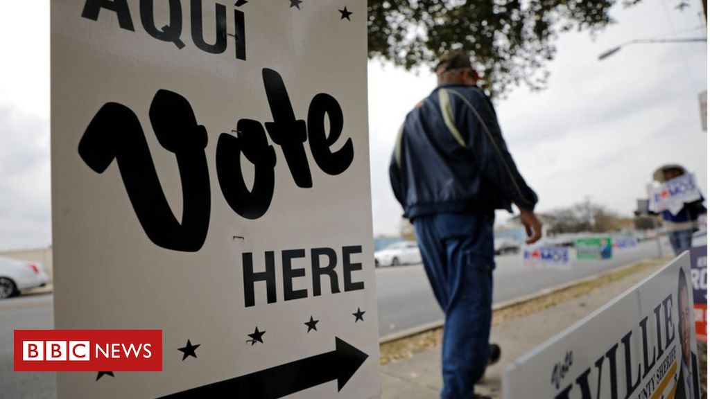 Voting locations have been reduced in the weeks leading up to the Texas gubernatorial election