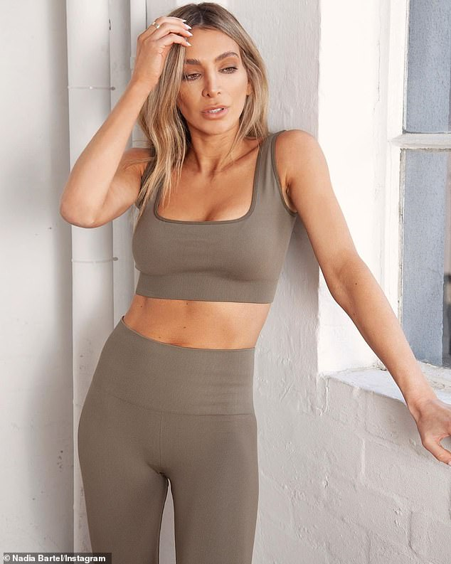 Exercise: 'I think for myself personally, it's a really good thing.  I really got into my fitness, I really connected with the guys and recharged, 'she said.