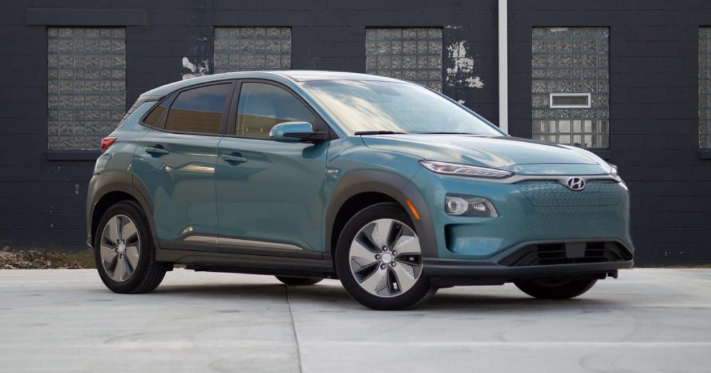 The upcoming Hyundai Kona EV is the result of a battery fire.