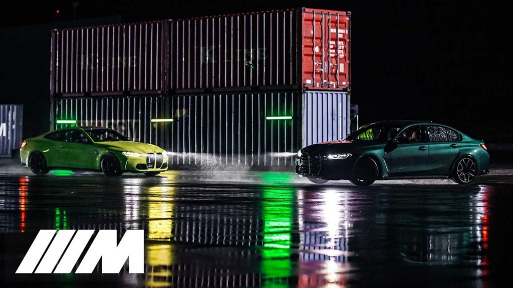 The 2021 BMW M3, M4 competition features the Fast Vs Fun 'Race' in the official video