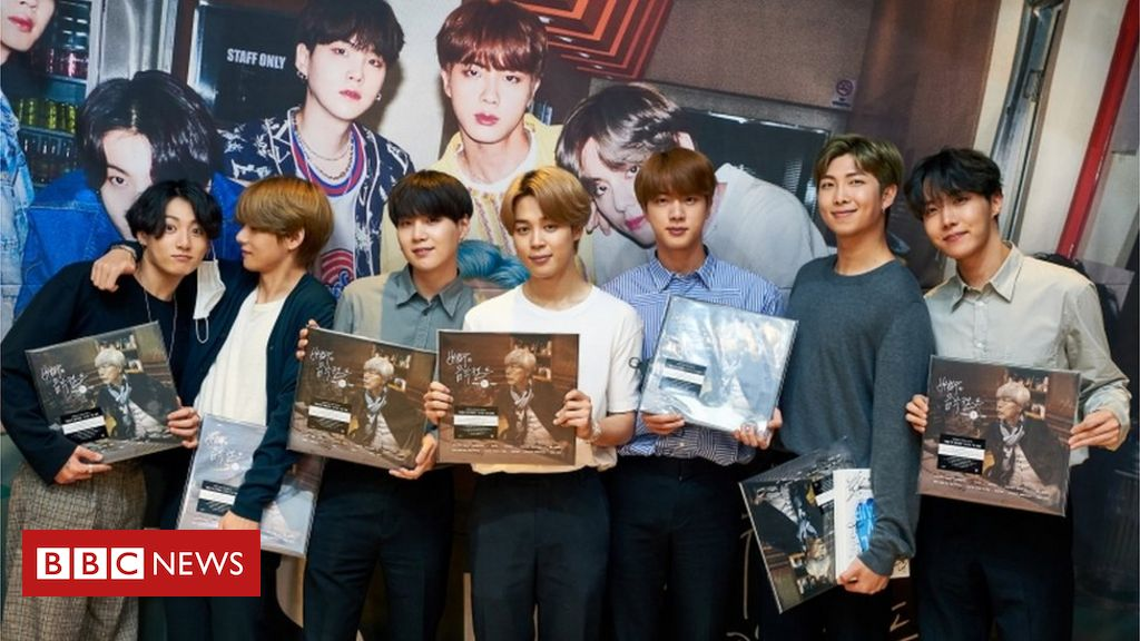 BTS is in trouble in China over Korean war comments