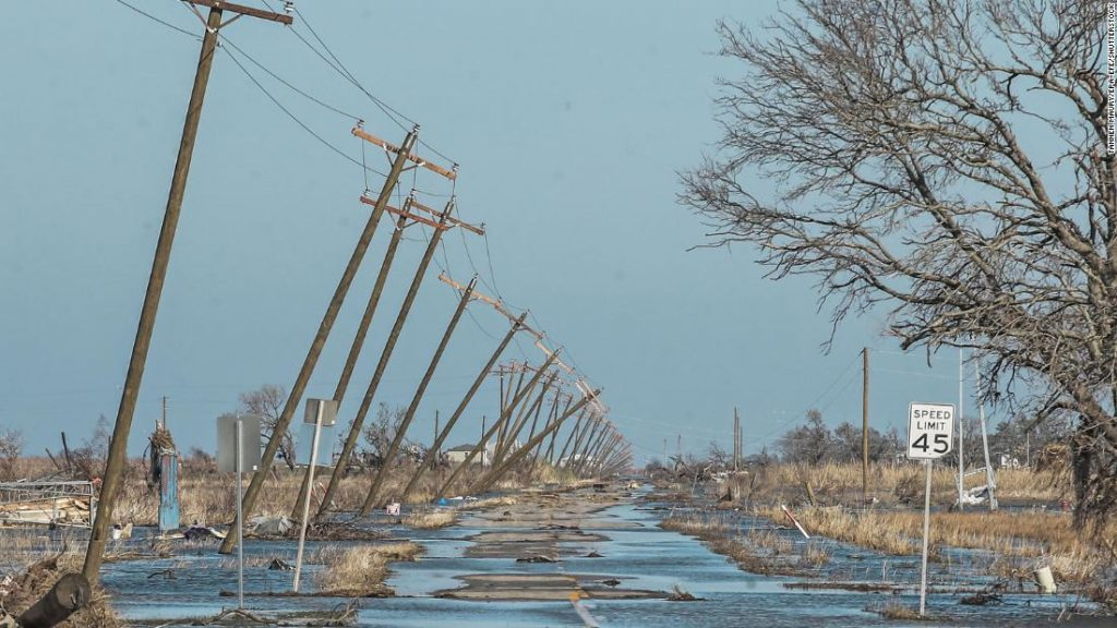 The Delta hurricane killed at least four people and injured hundreds more