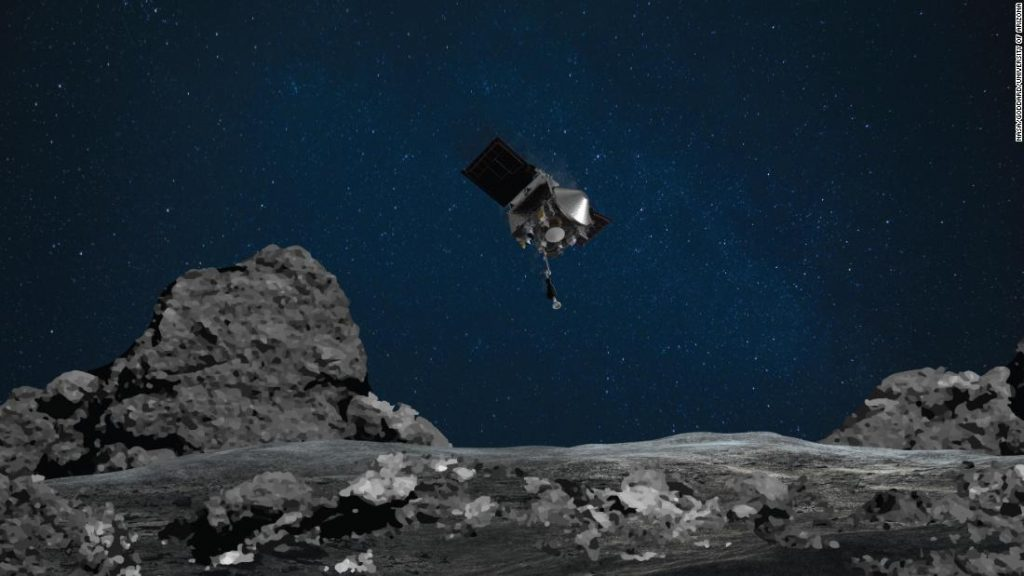 Asteroid Bennu is going to play 'tag' with the NASA spacecraft