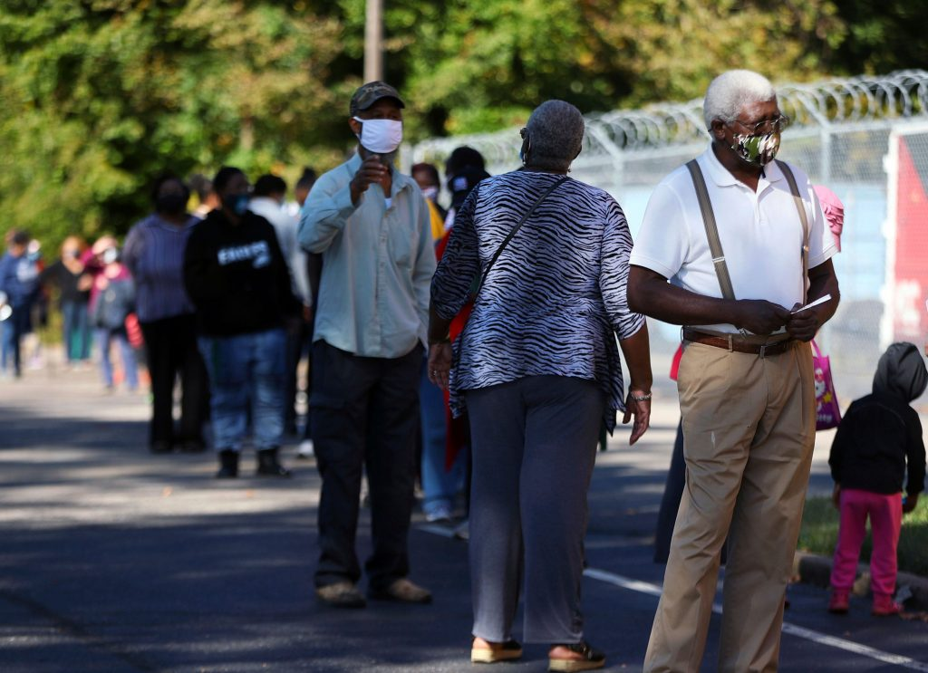 Tennessee poll worker fired for allegedly rigging voters in BLM costume: reports