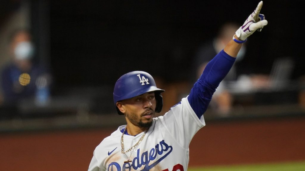 Betts wins race over Bellinger Power Dodgers to Game 1 World Series