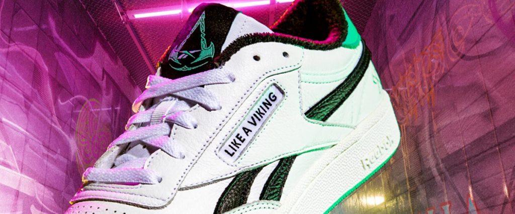 Walk like a Viking with these killer creed wallah Reebok sneakers