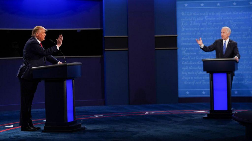 5 ways to depart from the last Trump-Biden presidential debate: NPR