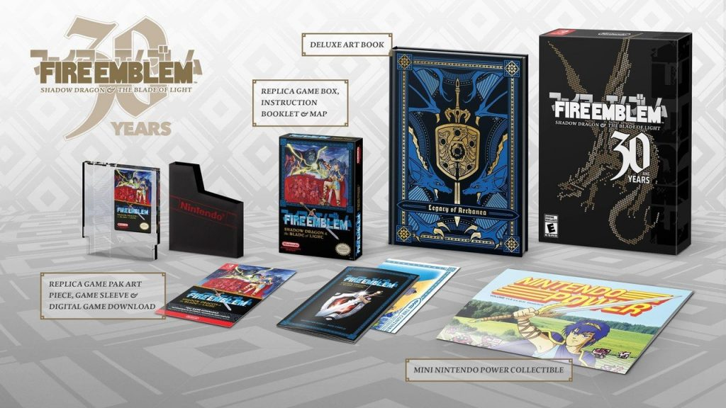 The scalpels of course are already listing the 30th anniversary edition of the Fire emblem