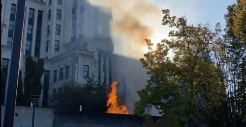 Car shootings near City Hall emit smoke over Vancouver