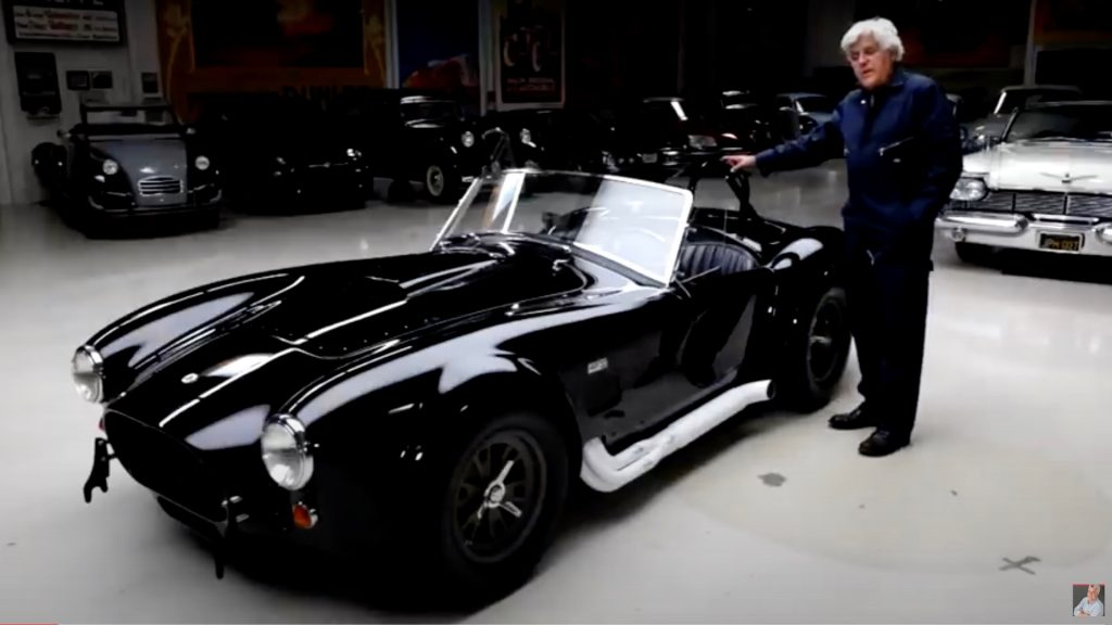 Rare 1965 Shelby 427 Cobra competition Jay Leno roars into the garage