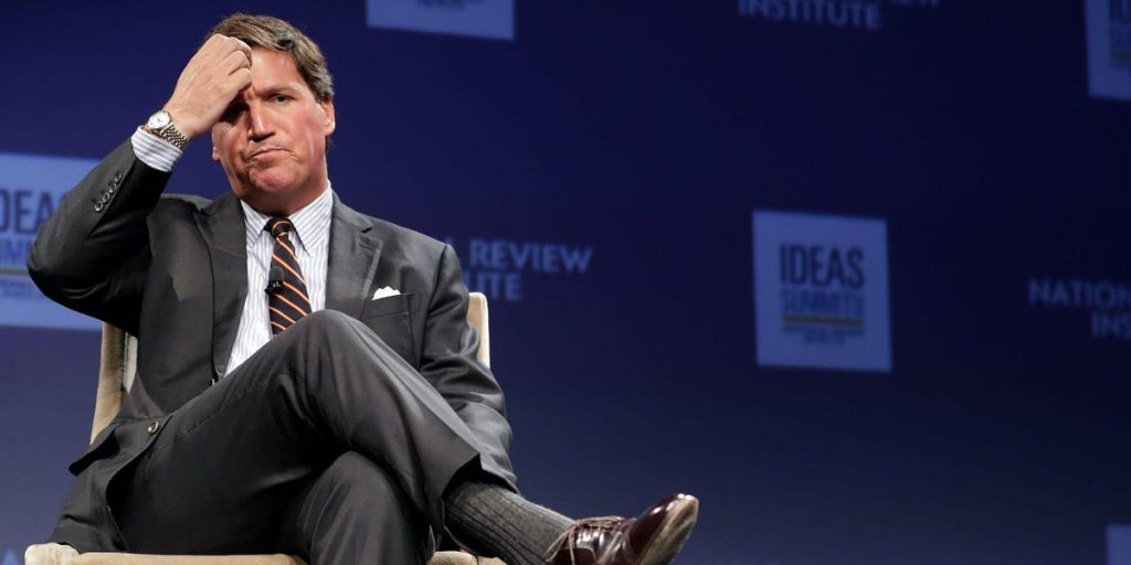 UPS said it had found the missing Tucker Carlson documents, which it is sending back
