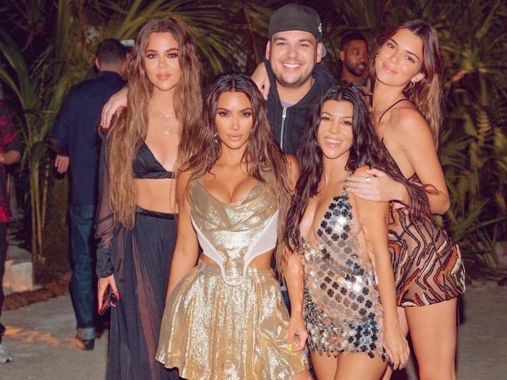 Inside Kim Kardashian's 40th birthday on a private island
