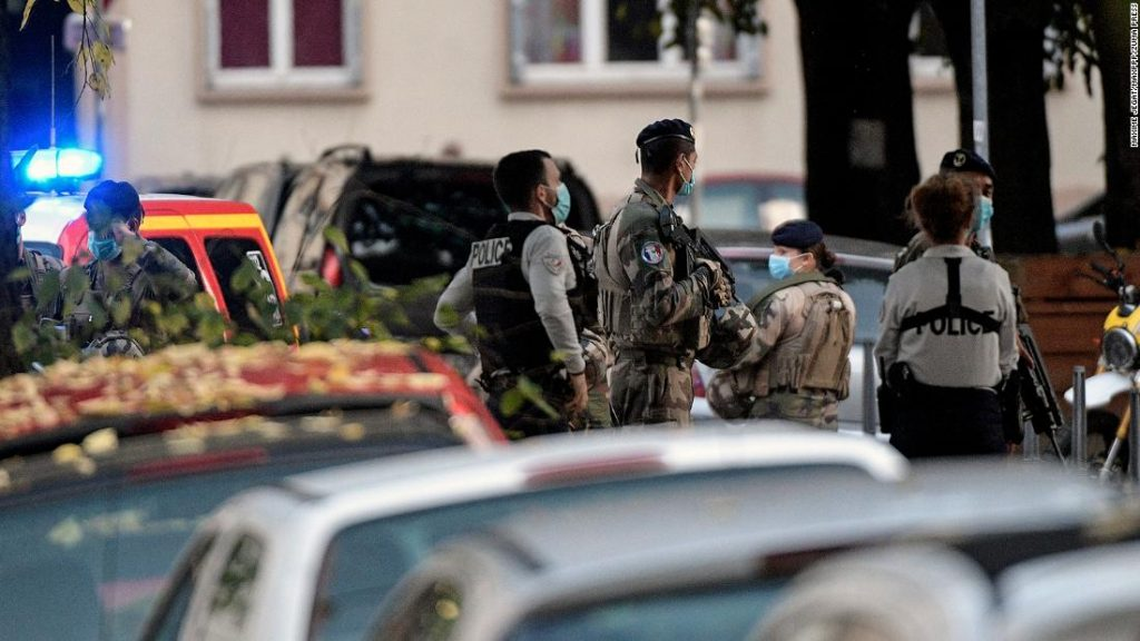 Lyon shooting: Orthodox priest shot, assailant flees - French police source