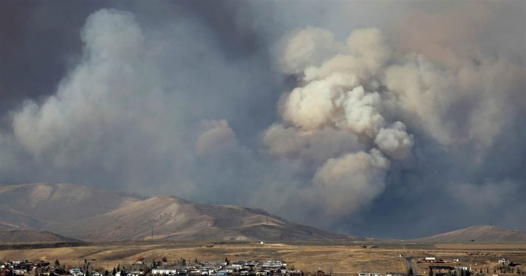 An elderly couple told family members they would be killed in a Colorado wildfire