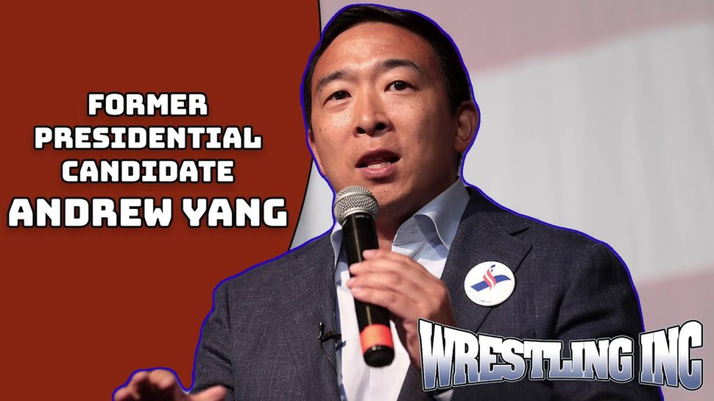 Andrew Yang comments on WWE Taking Over Talents Twitch Accounts