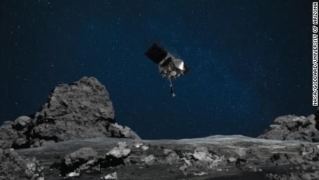 NASA's OSIRIS-REx mission prepares for a touchdown on an asteroid