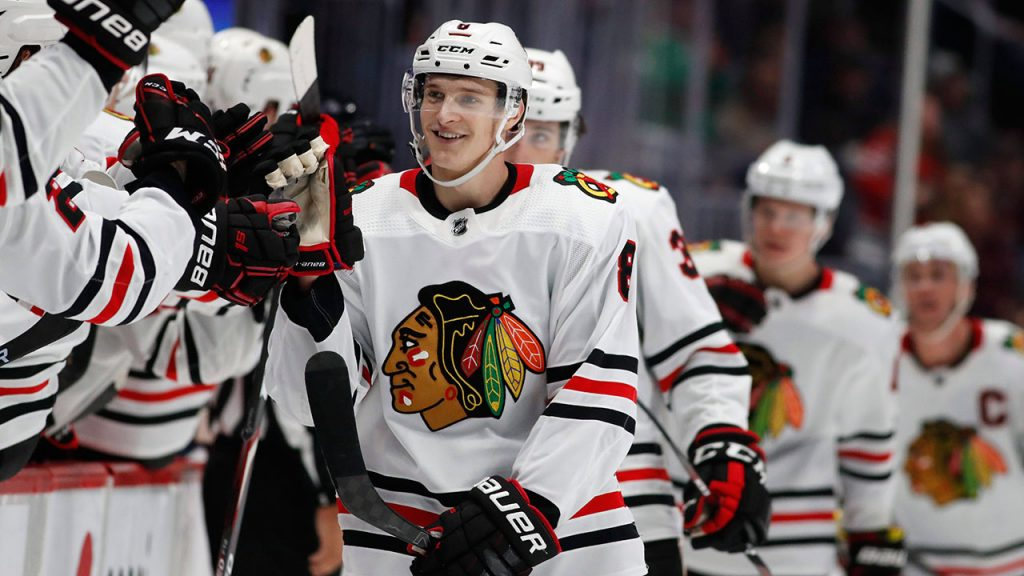 Blackhawks have signed Dominic Kubalik on a two-year deal