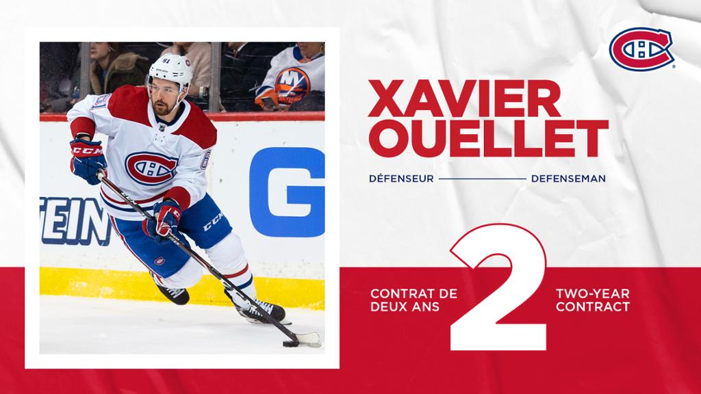 Canadians sign defenseman Javier O'Learyt's two-year contract extension