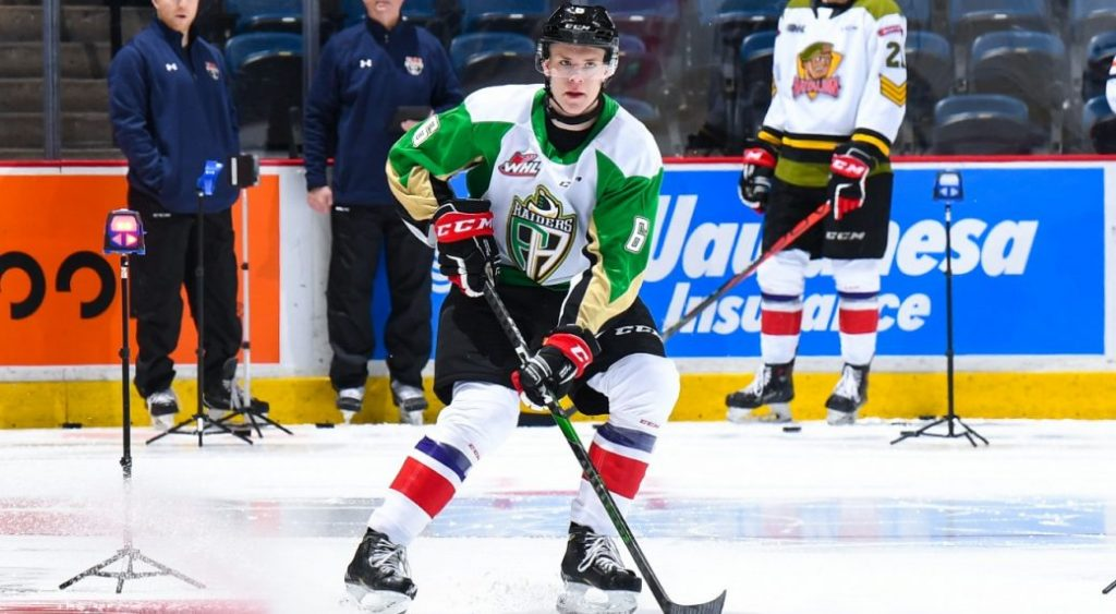 Canadians sign first round pick Keiden Guhley for entry level contract