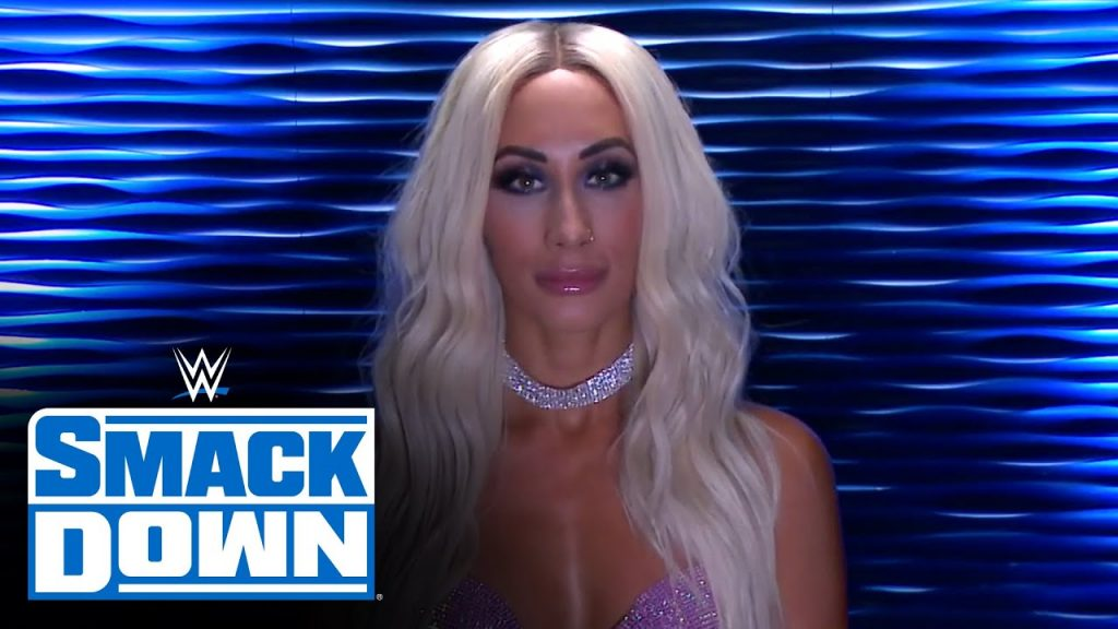 Carmella Reveals Woman Behind Mystery Vignettes on WWE SmackDown (Video) (Video)