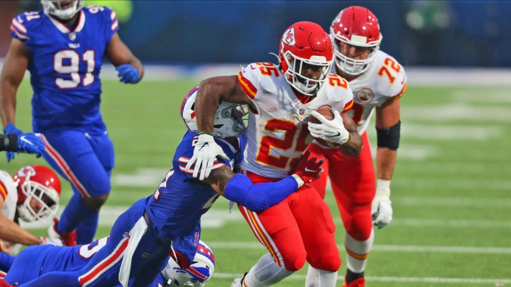 Chiefs, Edwards-Heller flee with victory over bills