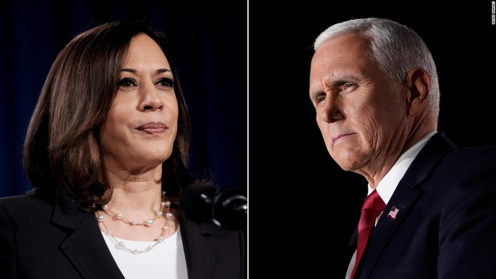 Discussion: Pence and Harris convened for a vice-presidential debate as the administration was seized by Covid-19