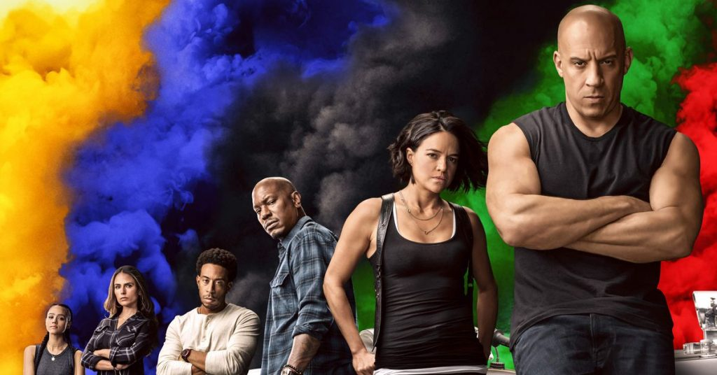 Fast & Furious can't stop turning that joke into 11, so you get the last movie