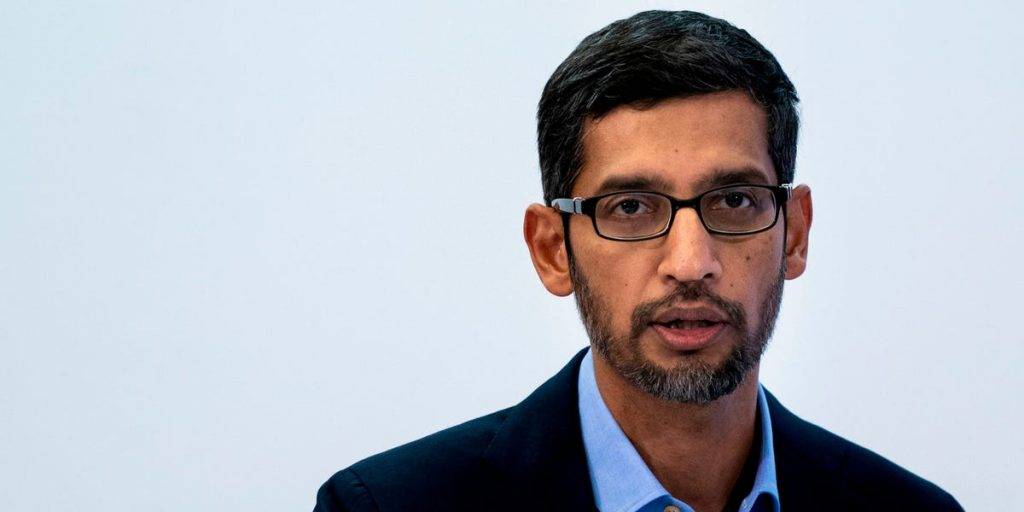 Google CEO DOJ Suite and fired on 'Code Red' accident