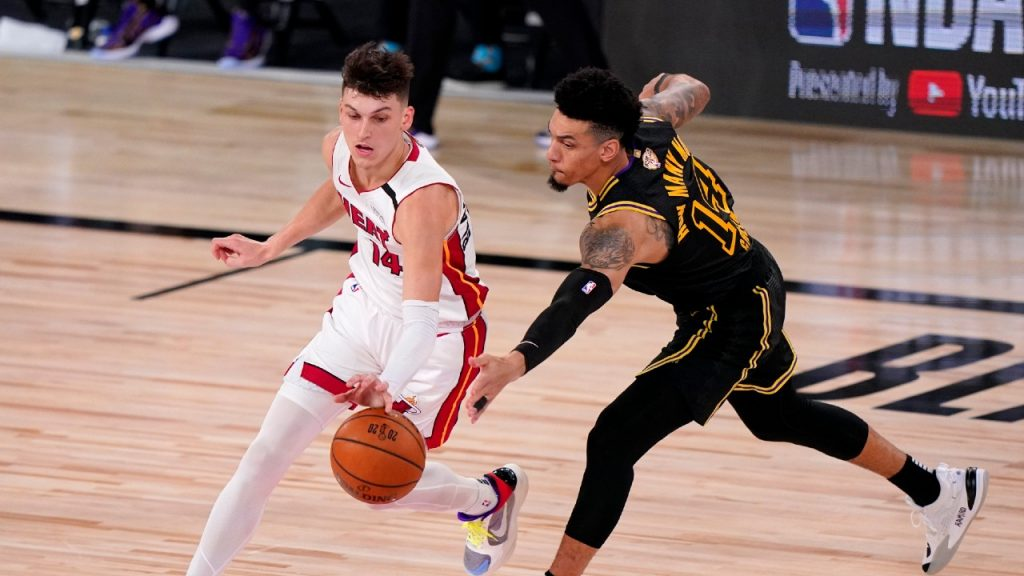 Heat the Lakers to force Game 6 into the NBA Finals