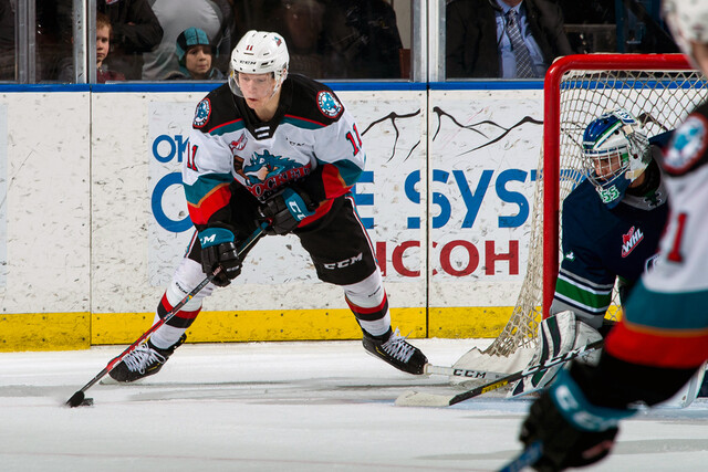His name is expected to be heard during this week's NHL Draft - WHL