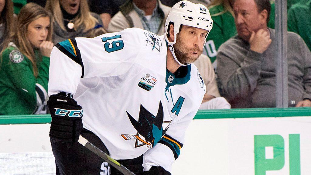 Joe Thornton joins Swiss club HC Davos, plans to return to NHL