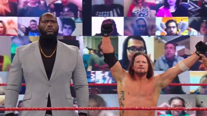 Jordan Omogbehin makes his debut as the new bodyguard of AJ Styles on WWE Raw (photos, videos)