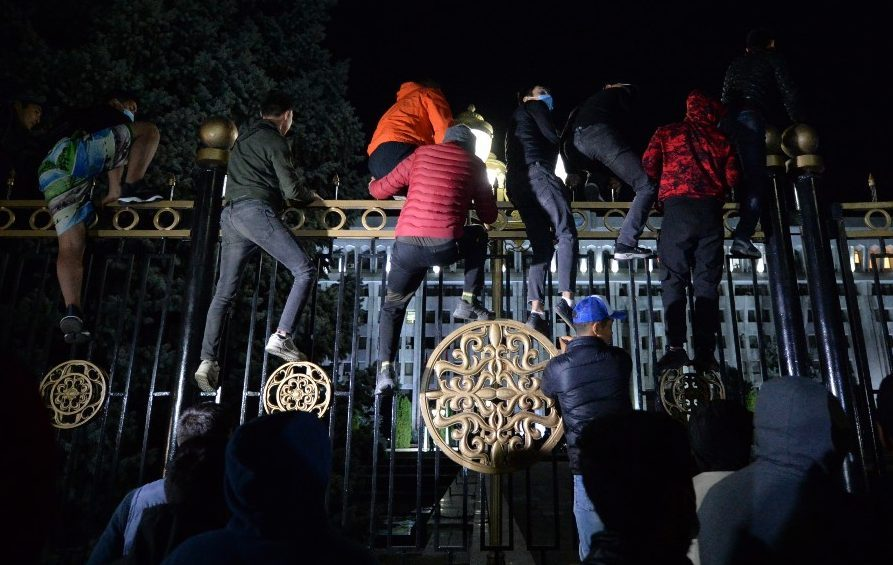 Kyrgyzstan protesters seize government house, free former leader Atambayev |  Europe