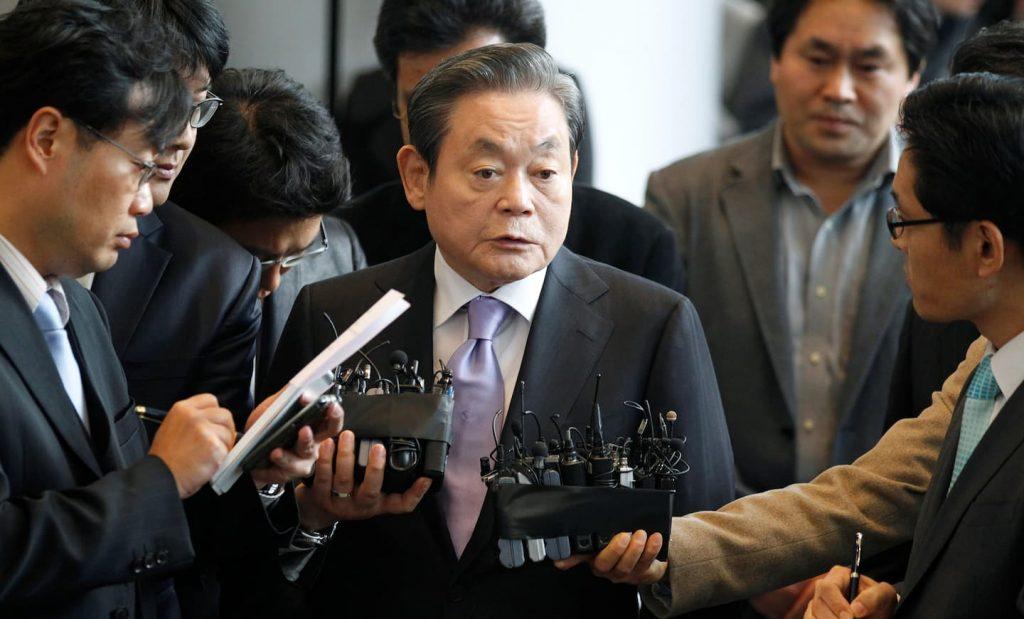 Lee Kun-hee of Samsung died at 78