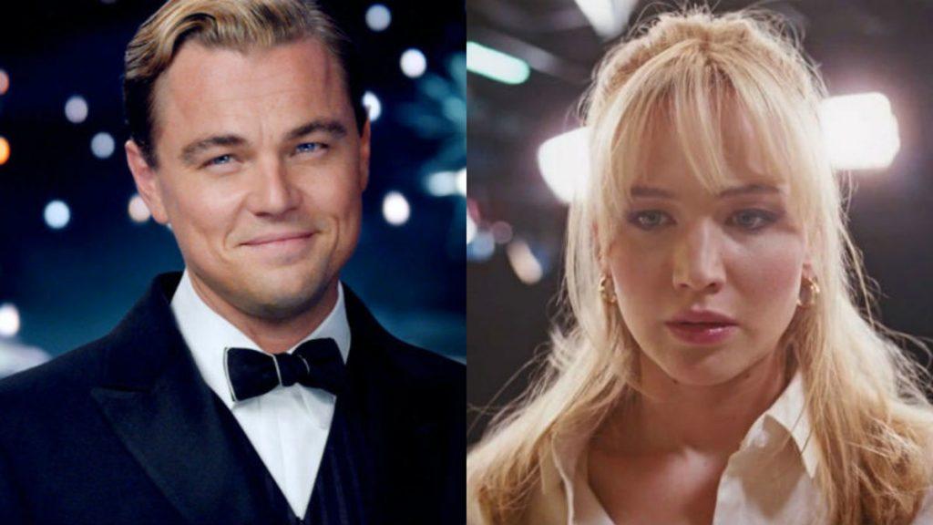 Leonardo DiCaprio Jennifer Lawrence Team Up for Asteroid Comedy