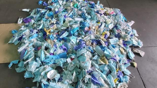 COVID waste