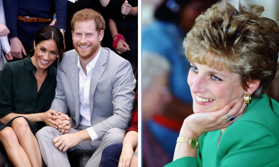 Meghan Markle and Prince Harry's beautiful new film reveals a sweet relationship with Princess Diana