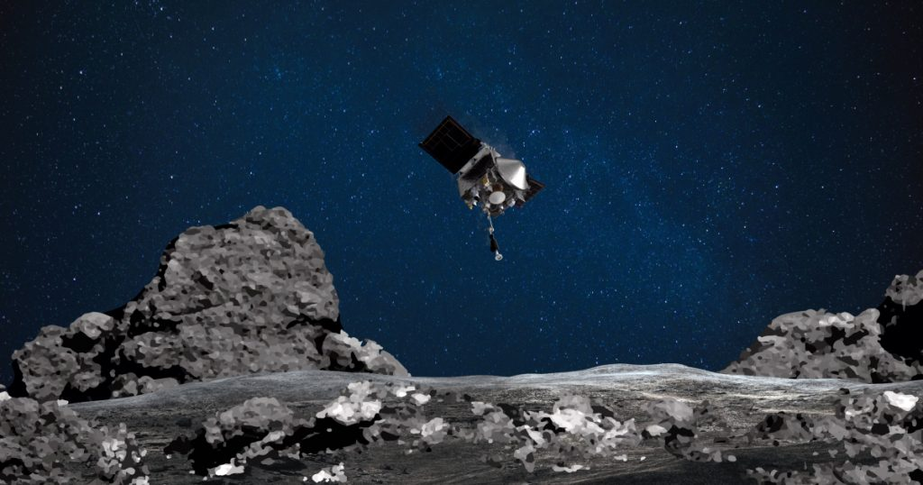 NASA's OSIRIS-REx catches rocks from asteroid on historic mission    US & Canada