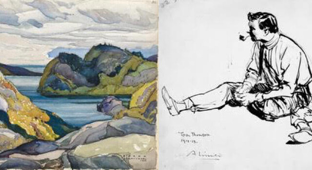 New Exhibition at Kelowana Art Gallery Works from Canada's Historic First Group of Seven - Kelowana News