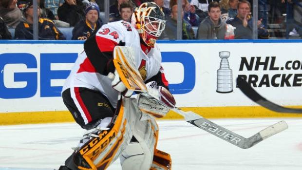 Ottawa senators have signed a three-year deal with goaltender Joey Dockard