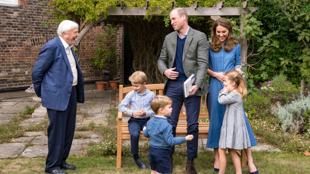 Prince George, Princess Charlotte, Prince Louis question David Attenborough about wildlife in new video