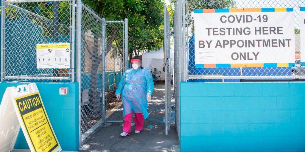 The U.S. broke the single-day record for new coronavirus cases