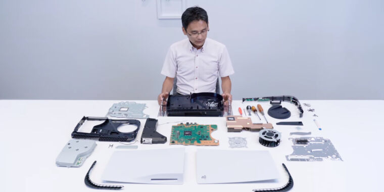 The first PlayStation 5 teardown reveals some hardware secrets