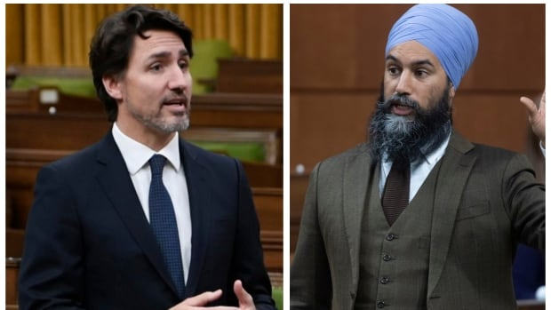 The throne speech crossed the House with the support of the NDP
