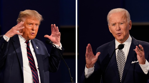 Trump declined to say whether he took the COVID-19 test before the first discussion with Biden