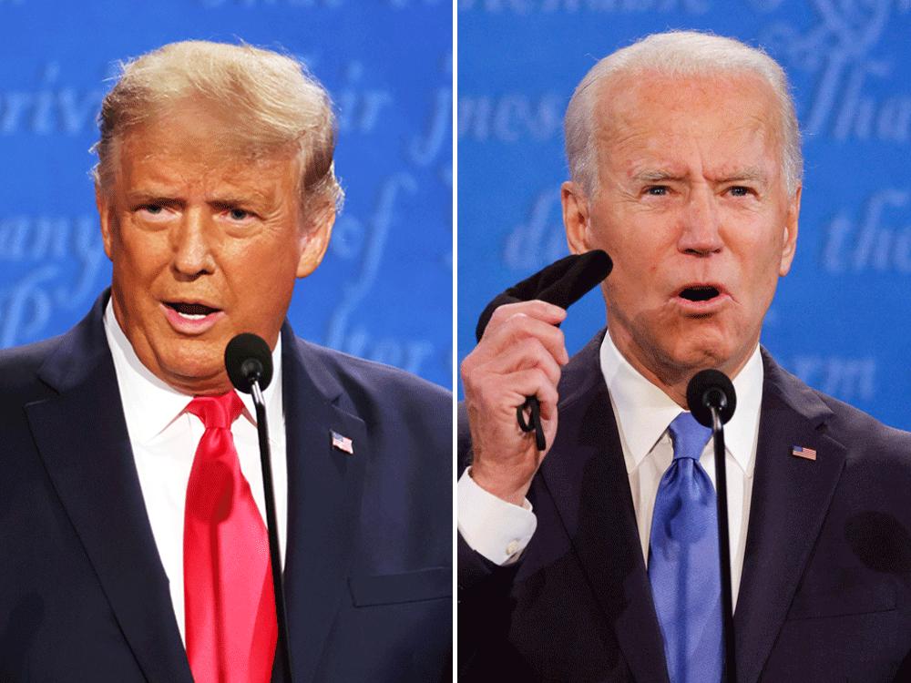 US Presidential Debate 2020 Live Stream: Trump clashes with Biden Kovid as faceoff begins