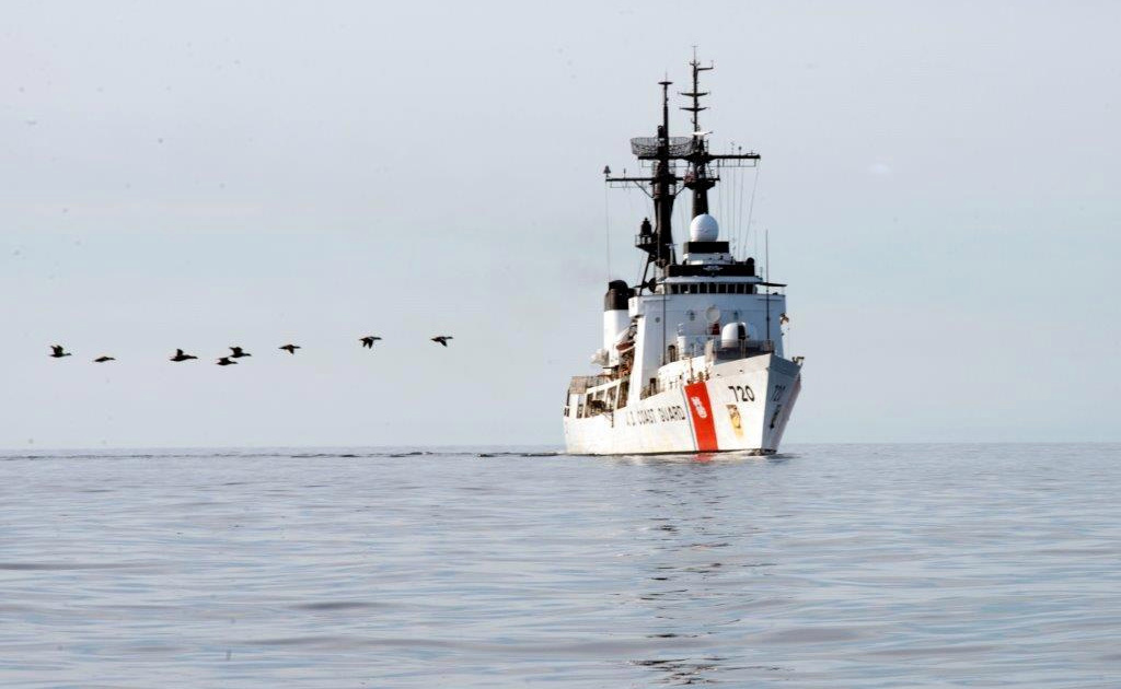 U.S. to base Coast Guard ships in the western Pacific to settle China  China