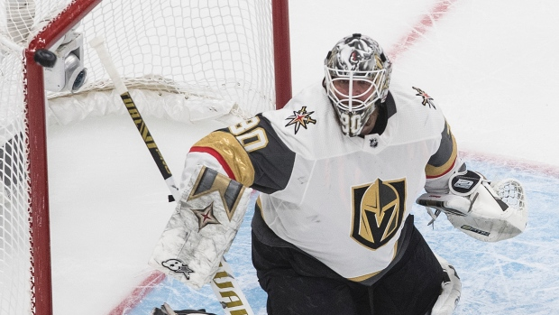 Vegas Golden Knights Goldtender re-signed Robin Lehner to 5-year, 25 million contract