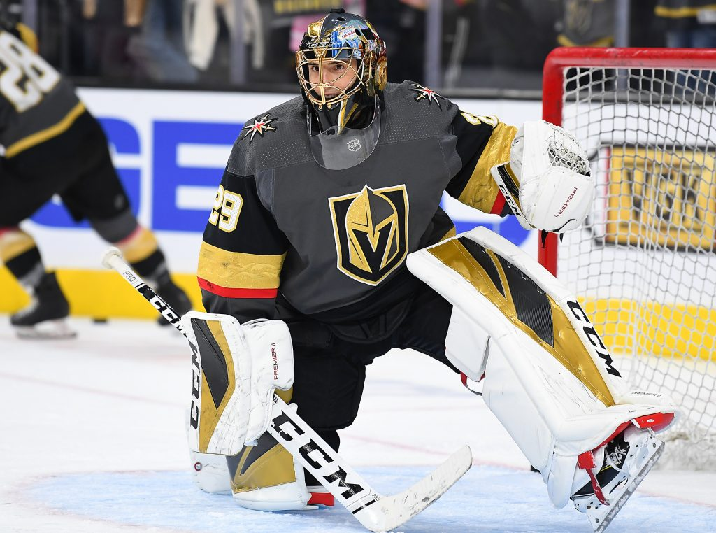 Vegas is looking for a third team to assist in the Golden Knights Fleury Trade
